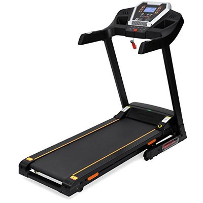Best Choice Products 900W Folding Electric Bluetooth App-Control Treadmill w/Incline Adjuster and Speakers – Black