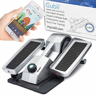 Cubii Pro – Seated Under-Desk Elliptical – Get Fit While You Sit – Bluetooth Enabled, Sync with Fitbit and Apple HealthKit – Whisper-Quiet – Adjustable Resistance – Easy to Assemble