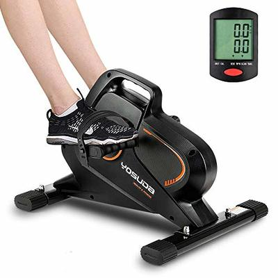 YOSUDA Under Desk Bike Pedal Exerciser – Magnetic Mini Exercise Bike for Arm/Leg Exercise, Desk Pedal Bike for Home/Office Workout
