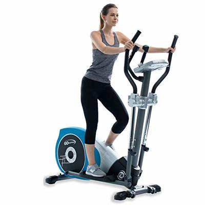 V-450T Standard Stride 17″ Programmable Elliptical Exercise Cross Trainer with Adjustable Arms and Pedals and HRC Control Program for Cardio Fitness Strength Conditioning Workout at Home or Gym