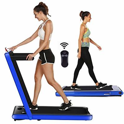 ncient Folding Electric Treadmill Walking Running Machine Workout Fitness Indoor Exercise Machine Power Motorized for Home Office Gym (1.5 HP_Orange_Not Incline)