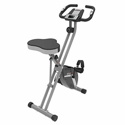 ATIVAFIT Indoor Cycling Bike Folding Magnetic Upright Bike Stationary Bike Recumbent Exercise Bike (Large Seat)