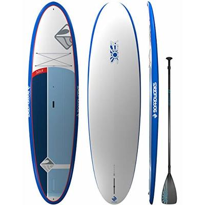 Boardworks S?lr | Recreational Stand Up Paddleboard | X-Shot Epoxy Hardboard with Paddle | 10′ 6″
