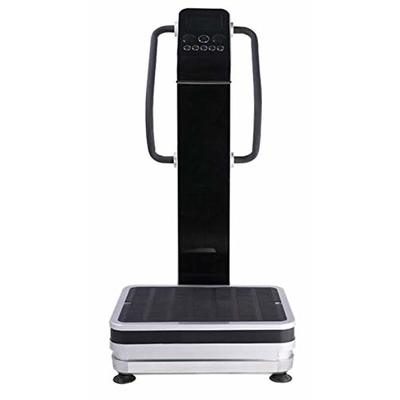 Professional Dual Motor 1500W Full Body Vibration Platform Plate Exercise Fitness Machine, with USB Port and 2 Speakers