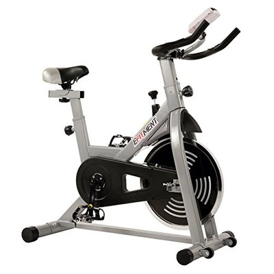 EFITMENT Indoor Cycling Exercise Bike w/ 29 lb Flywheel, Belt Drive, LCD Monitor with Pulse and Tablet Holder – IC029 (IC029)