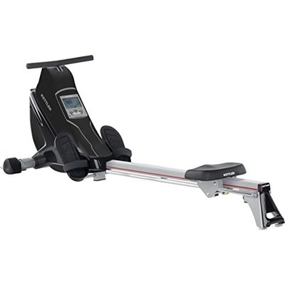 KETTLER 7975-160 Coach E Indoor Rower Exercise Machine with LCD Display