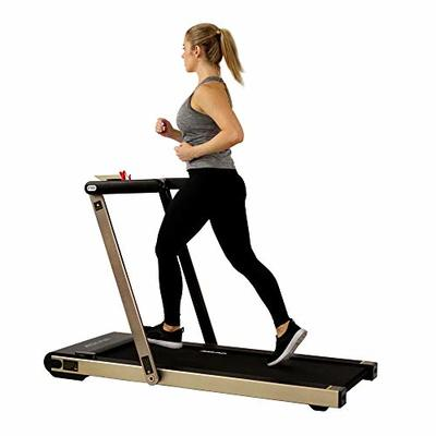 Asuna Space Saving Treadmill, Motorized with Speakers for AUX Audio Connection – 8730G