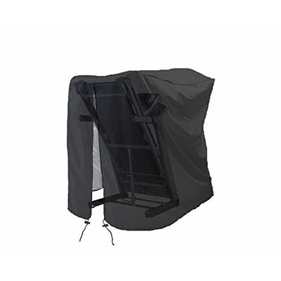 MaWGcowerd Treadmill Cover, Folding Treadmill Cover, Dustproof and Waterproof Cover, Oxford Cloth Waterproof Sunscreen Cover(Black)