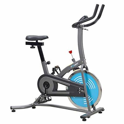 EFITMENT Indoor Cycle Bike, Quiet Belt Drive Cycling Trainer Exercise Bike; 22 LB Flywheel, LCD Montior – IC007