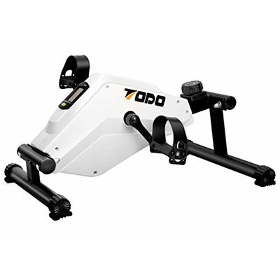 TODO Pedal Exerciser Desk Exercise Bike Smooth and Quiet Leg and Arm Exercise Equipment