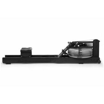 WaterRower Club All Black Rowing Machine in Ash Wood with S4 Monitor