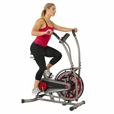 Sunny Health & Fitness Motion Air Bike, Fan Exercise Bike with Unlimited Resistance and Tablet Holder – SF-B2916