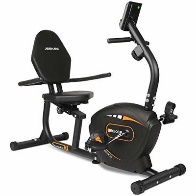 JEEKEE Recumbent Exercise Bike for Adults Seniors – Indoor Magnetic Cycling Bike for Home Workout