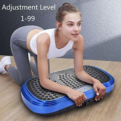 Vibration Platform Machines Whole Body Workout Vibration Plate Exercise Machine Fitness Platform Home Training Equipment Weight Loss Home Indoor