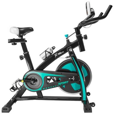 Stationary Exercise Bicycle Bike Cycling Cardio Health Workout Fitness