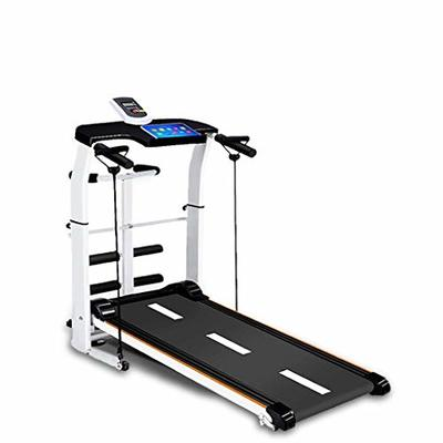 Libison Multifunctional Treadmill New Folding Shock Running Supine T-wisting Draw Rope 4-in-1 Machine Treadmills with Large LCD Monitor Workout Fitness for Office Home Gym (Shippment from USA)