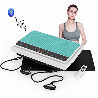 VLOXO Vibration Plate, 3D Exercise Machine Vibration Fitness Platform with Adjustable 99 Levels – Whole Body Workout Trainer for Home Training Weight Loss Toning and Shaping