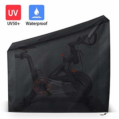 Wassers Protective Cover for Peloton Bike. Indoor and Outdoor Dustproof/Waterproof Sunshine-Proof Cover Compatible with Peloton Bike