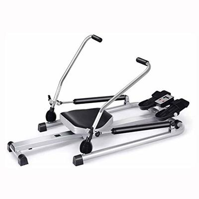 Hohaski Exercise Fitness Rowing Machine Incline Full Motion Rowing Machine Rower Fitness Home Gym Rowing Machine Rower Adjustable Double Hydraulic Resistance with LCD Monitor?US Stock?