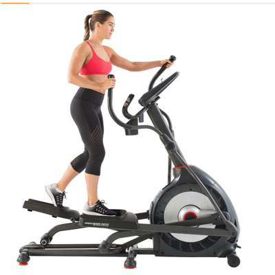 Sunny Health SF-B2883 Upright Exercise Bike with Electromagnetic Resistance