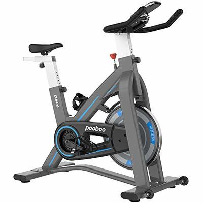 L NOW Indoor Exercise Bike Indoor Cycling Stationary Bike, Magnetic Resistance Belt Drive with Heart Rate, Adjustable Seat and Handlebar, Tablet Holder, Stable and Quiet(D606)