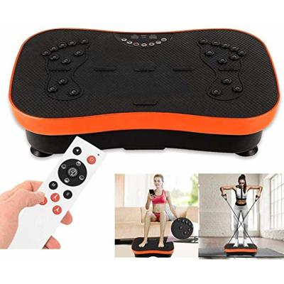 JEI-MEN Vibration Plate Exercise Machine Whole Body Workout Vibration Fitness Platform Loop Bands Home Training Equipment for Weight Loss Toning