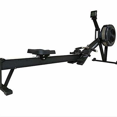 Foldable Rowing Machine for Full Body Workout, Premium Rower Exercise Equipment for Daily Home Training with Adjustable Foot-Rests,Ergonomic Handle,Comfortable Seat and Performance LCD Screen Monitor