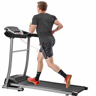 Merax Folding Treadmill Electric Treadmill Motorized Running Machine with Speakers for Home Use,Easy Assembly Running Machine Walking and Jogging Machine,12 Preset Programs