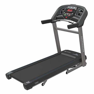 Horizon Fitness T202 Advanced Running Treadmill, Black