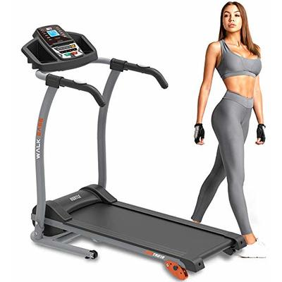 Hurtle Electric Folding Treadmill Exercise Machine – Smart Compact Digital Fitness Treadmill Workout Trainer w/Bluetooth App Sync, Manual Incline Adjustment, for Walking, Running, Gym HURTRD18