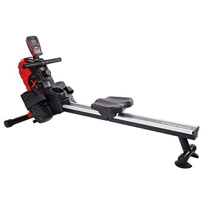Stamina | X Magnetic Rower, Black/Red