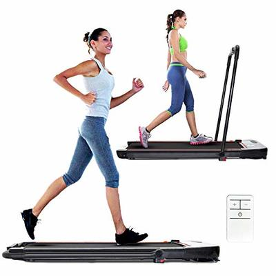 RUNSPORT Treadmills for Home Under Desk Treadmill with Installation-Free Walking Jogging Machine for Home Office Use Low Noise 240 lbs Weight Capacity