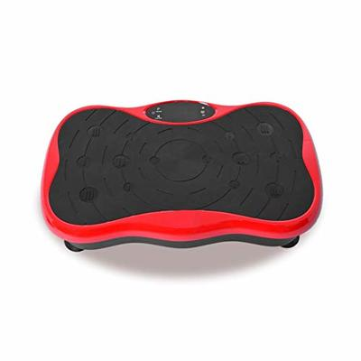 Vibration Plate Exercise Machine Whole Body Workout Vibration Fitness Platform w/Loop Bands Home Training Equipment for Weight Loss & Toning Shipping from USA