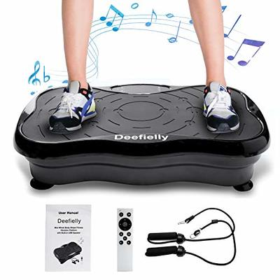 KESSER Vibration Platform with Rope Skipping, Vibration Plate Exercise Machine, Whole Body Workout Fitness Platform for Home Training and Shaping