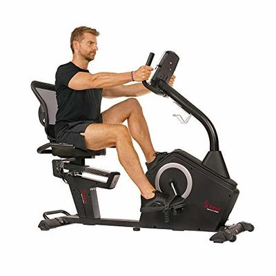 Sunny Health & Fitness Programmable Recumbent Bike – SF-RB4850