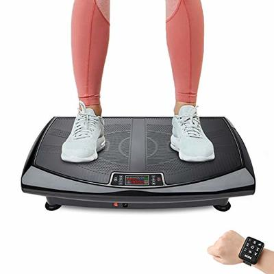 Magnergy 4D Vibration Plate Exercise Machine 3 Motors – False Touch Prevention Screen, Whole Body Vibration Platform with Wrist Remote Control, Bluetooth Speaker, Vibrarating Plate for Weight Loss