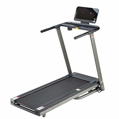 Lifepro Pacer Folding Treadmill for Home – Smart Motorized Portable Treadmill w/Auto Incline, Aux Bluetooth Speakers & Modern Display – Easy Assembly Compact Running Machine for Cardio & Weight Loss