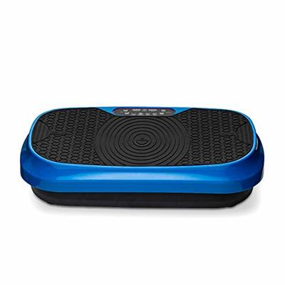 LifePro Waver Mini Vibration Plate – Whole Body Vibration Platform Exercise Machine – Home & Travel Workout Equipment for Weight Loss, Toning & Wellness – Max User Weight 260lbs (Blue)