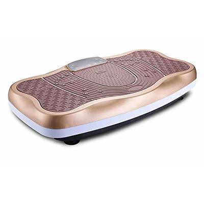 TODO Vibration Platform Wholebody Vibrating Board- Remote Control/Bluetooth Music/USB Connection (Gold