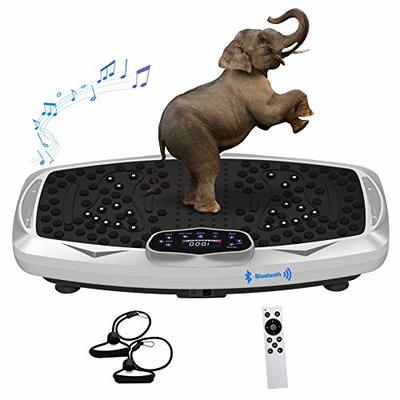 Healthgenie Whole Body Vibration Platform Machines, Viberation Plate Exercise Body Vibration Machine with 99 Levels Vibrarating Workout and Bluetooth