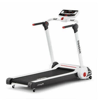 Reebok RVIT-10121WH-120 i-Run 3.0 Compact Running Treadmill for Home Workouts