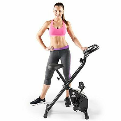 Folding Upright Exercise Bike with Magnetic Resistance NS-654