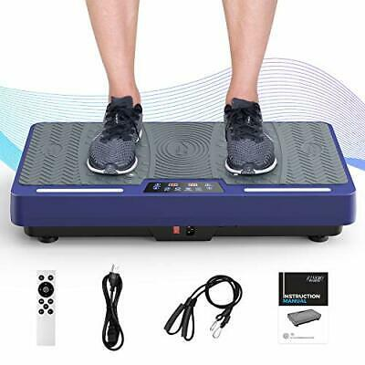 RINKMO Vibration Plate Exercise Machine With Resistance Bands, Whole Body