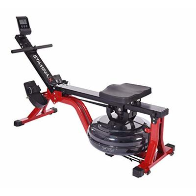 Stamina | X Water Rower, Black/Red