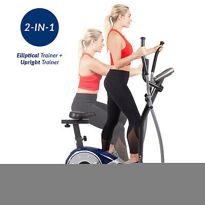 Body Champ BRM3671 Elliptical Dual Trainer with Seat.